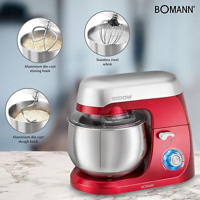 Robot cocina multifuncion batidora amasadora reposteria 5L 1000W Bomann KM 6009 3