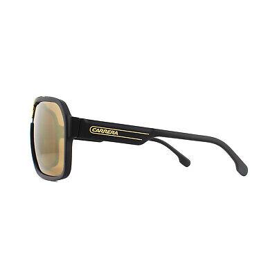 New Authentic Carrera 1014//S 807HA Black w//Brown Gradient Sunglasses