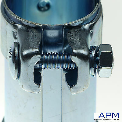 Auspuff Doppelschelle Rohrverbinder Schelle Verbinder Ø 38 42,5 x 95mm