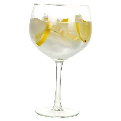 4 8 12 Large 650ml Gin & Tonic Balloon Cocktail Drinking Wine Glasses G&T Set 3