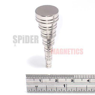 Neodymium Magnets 4mm 5mm 6mm 8mm 10mm 12mm 15mm neo magnet discs craft hobby UK 2