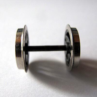 4 x Präzisions-Radsatz Liliput//Roco//Sachsenmodelle Lkdm 11,0 Achse 24,75 mm AC