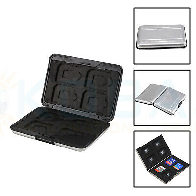 Memory Card Storage Box Case Holder with 8 Slots for SD SDHC MMC Micro SD Cards 5
