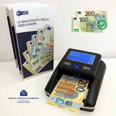 Contabanconote da banco Rilevatore banconote false Aggiornato 2019 con Batteria 5