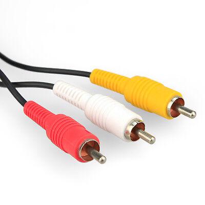 Audio Video GC RCA AV Cable for Super Nintendo, Original N64, Gamecube SNES Lead 2