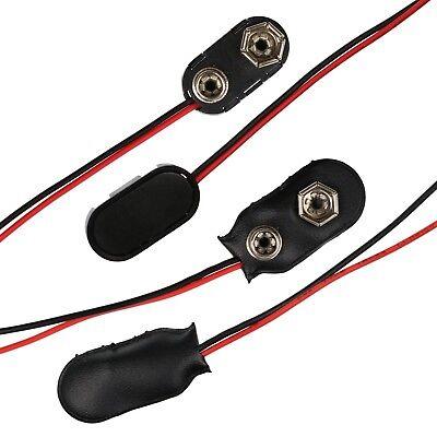 9V PP3 Battery Clip Connectors 1 PAIR 11.5cm