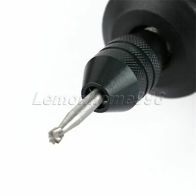 Quick Change Multi Chuck Keyless for Grinder Rotary Tools 0.5mm-3.2mm Swaps HQ 7