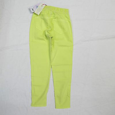 DEHA pantaloni/leggins bambina mod.F87397 col.GIALLO LIME tg.2XL estate 2014 2
