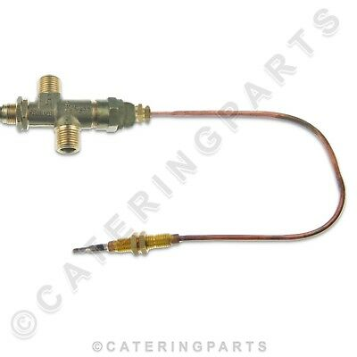 PUSH BUTTON GAS VALVE AND 300mm THERMOCOUPLE BURCO STANDARD BOILER FLAME SAFETY 2