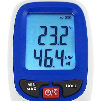 Digital Humidity & Temperature Meter Hygrometer Psychrometer Dew Point Wet-bulb