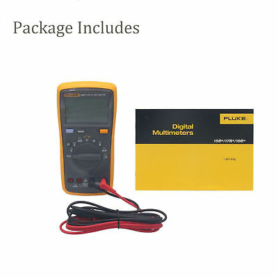 New FlUKE 15B+ Multimeter AC/DC/Diode/R/C auto/manual 7