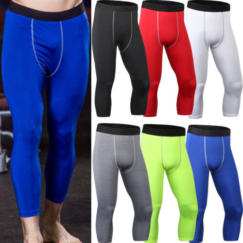 Zimco Men Compression Running Pants Base Layer Skin Legging Recovery Pant 3020