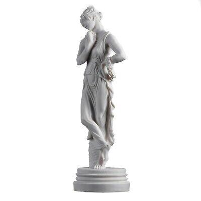 "Persephone Goddess Of The Underworld Springtime Flowers&Vegetation Statue 11.8"" 4"
