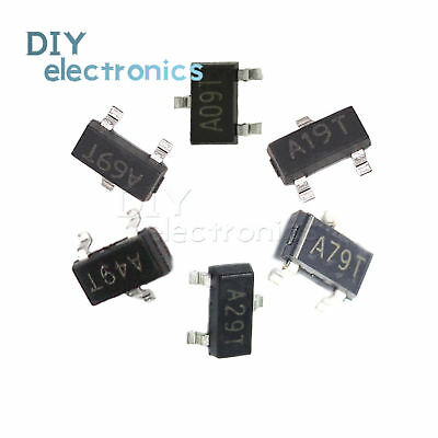100 PCS AO3406 SOT-23 A69T 30V N-Channel MOSFET
