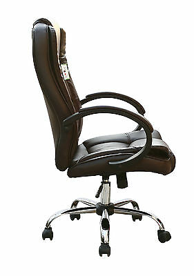 High Back Executive Swivel Computer Desk Faux Leather Office Chair