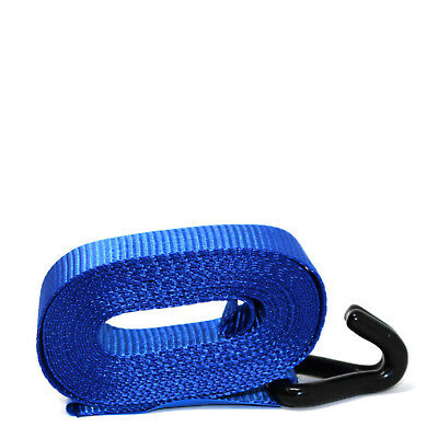 HEAVY DUTY RATCHET TIE DOWN STRAP 4M x 25MM WITH CHASSIS HOOK TIE DOWN STRAPS 3