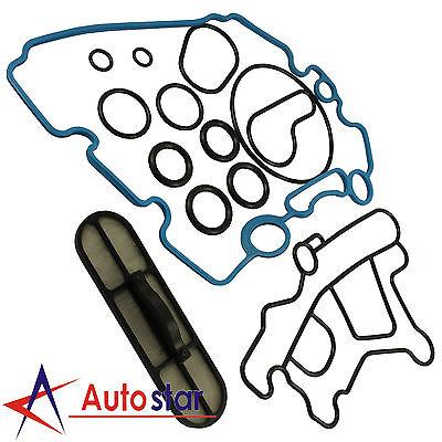 3c3z6a642ca Oil Cooler Kit For 03 10 Ford Powerstroke Diesel 6 0l