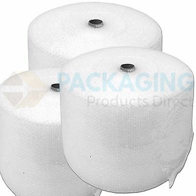 UK BUBBLE WRAP SMALL & LARGE BUBBLE - EUROPES CHEAPEST 300 500 750mm 50 / 100m 2