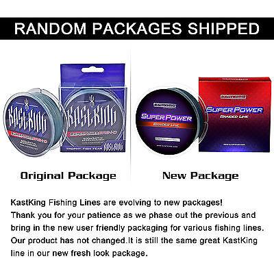 KastKing 137-1000M 8LB-150LB Various Color Dyneema PE Spectra Braid Fishing Line 6