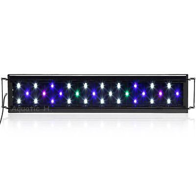 Aquaneat LED Aquarium Light Multi-Color Full Spec Marine FOWLR 12 20 24 30 36 48 2