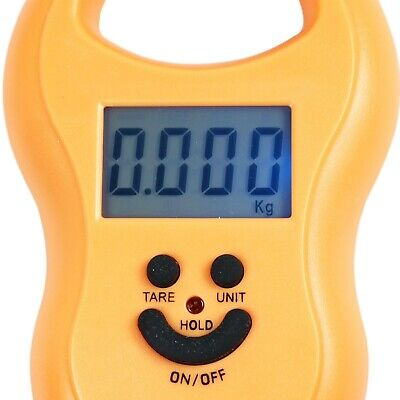 50Kg / 5g-10g Portable Digital Hanging / Fishing Scale with Lighted LCD Display 8