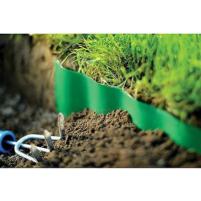 Plastic Garden Grass Lawn Edge Edging Border Fence Wall Driveway Roll Path 5