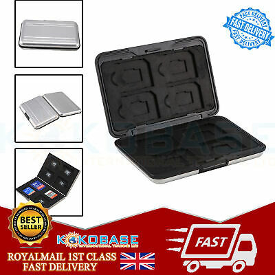 Memory Card Storage Box Case Holder with 8 Slots for SD SDHC MMC Micro SD Cards 4