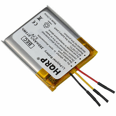 290mAh Rechargeable Battery for Sandisk Sansa Clip+ Clip Plus 4GB 8GB MP3 Player