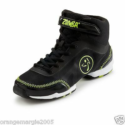 finest selection 0e1a7 80ea6 2 2 of 5 ZUMBA Flex Classic HIGH TOP SHOES TRAINERS HIP HOP DANCE! - Zumba s  Top Line!