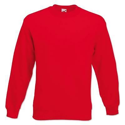 Fruit of the Loom Sweatshirt Set-In Herren Pullover Pulli Gr. S M L XL 2XL 3XL 7