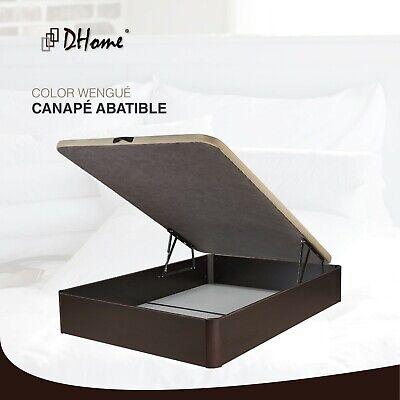 Canape Abatible tapizado 3D 4 VALVULAS AIREACIÓN, 29cm capacidad, canapé NUEVO 8