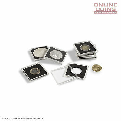 Lighthouse Quadrum 15mm Square Coin Capsules - 10 Pack 2