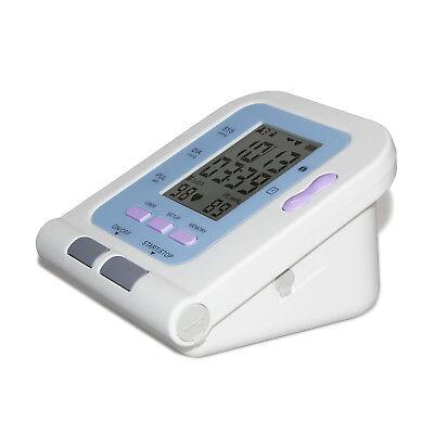 Blood Pressure Monitor Digital Upper Arm Cuff Automatic Measure Heart Rate Pulse 5