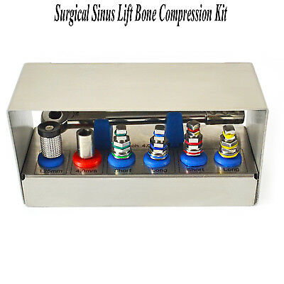 Dental Bone Compression Kit Surgical Sinus Lift Expander Implant Instruments New 4