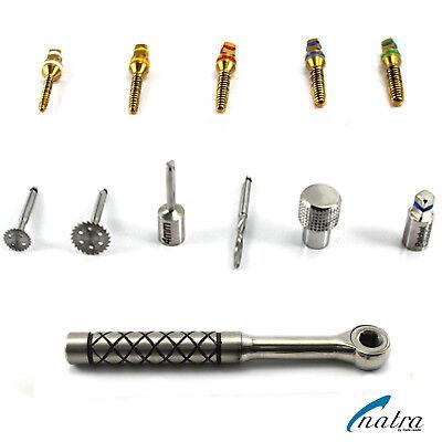Dental Bone Expander Kit Sinus Lift with Saw Disks Surgical Implants Instruments 3