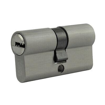 2x gleichschliessend Knauf Profil Tür Zylinder Schloss kombinieren +5 Schlüssel 5