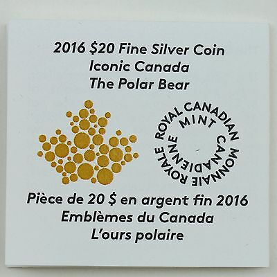 2016 $20 Masters Club Coin #3 – 99.99% Pure Silver Polar Bear with Blue Enamel 9