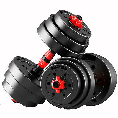 Zeno Fitness 30Kg Dumbells Pair Of Weights Barbell/Dumbbell Body Building Set 2