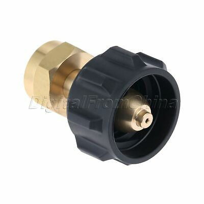 Useful Gas Propane Refill Adapter 1 LB Cylinder Connection QCC1 Regulator Valve 4