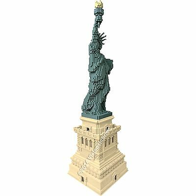 LEGO STATUE of Liberty 3450 Custom Base/Pedestal - INSTRUCTIONS ONLY ...