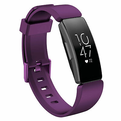 For Fitbit Inspire / Inspire HR Replacement Silicone Wristband Strap Watch Band 8