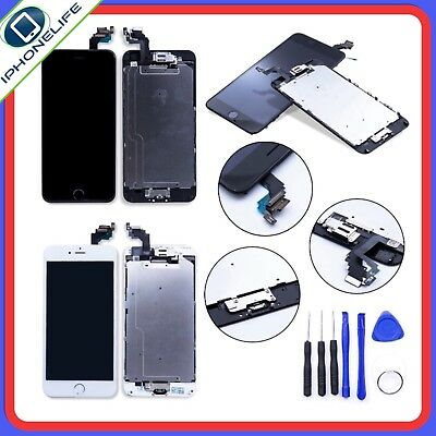 Bloc Complet Assemblée Chassis Vitre Tactile Ecran Lcd Iphone 6 Noir / Blanc 2