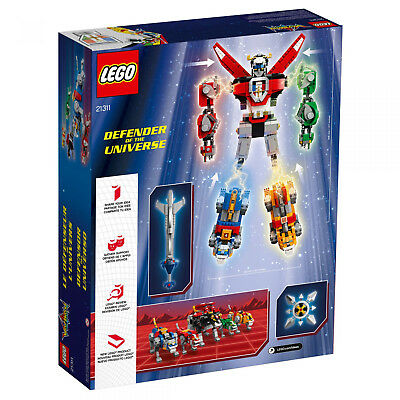 LEGO IDEAS 21311 Voltron Legendary Defender of the UNIVERSE NEU OVP BLITZVERSAND 2