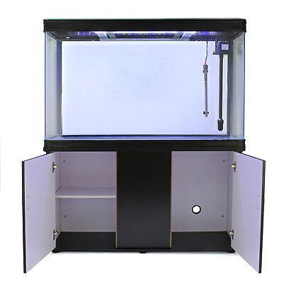 Pecera Acuario Completo 300L Mueble Inferior Negro & Kit Iniciación 300W 3