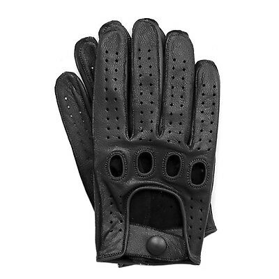 Men's Genuine Top Quality Leather Driving Gloves Swift Wears 2