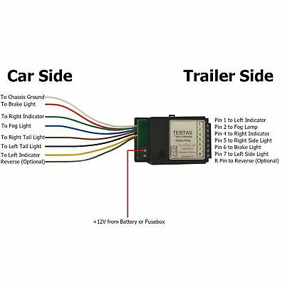 Towbar Electrics 7 Way Bypass Relay for Canbus Multiplex Wiring Smart TR186 4