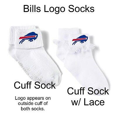 1 of 2 Personalized Buffalo Bills Football Fan Baby Gerber Onesie Optional  Socks Gift ccdd8cab5f7e