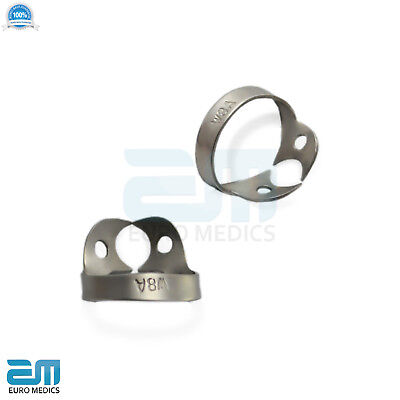 Dental Rubber Dam Clamps Molars Tooth Isolation Dentist Endodontic Instrument CE 8