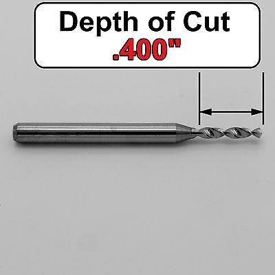 "Diameter Solid Carbide Micro Drill 1//8/"" Shank Kyocera #105-0280.400 .0280/"" #70"