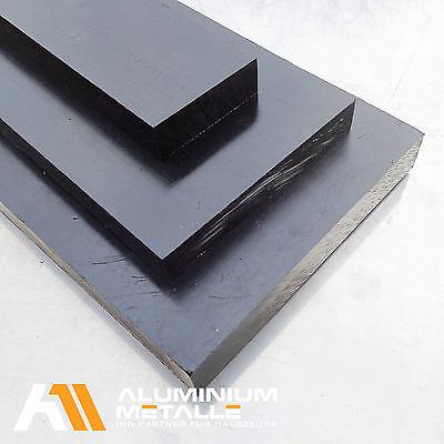 C schwarz u weiß Stärke 70 mm POM Acetal Zuschnitt Platte POM 1180,00€//m²